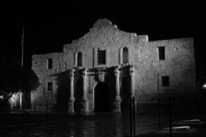 avond in het Alamo foto