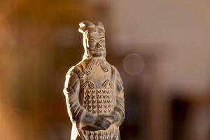 terracotta krijger foto