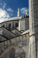 sultan ahmed moskee foto