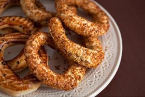Turkse bagel, (kandil simiti)