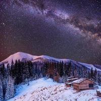 kerst magische nacht foto
