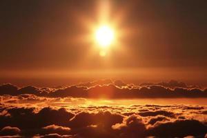 mooie zonsondergang