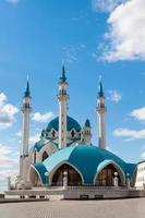 de kul sharif-moskee in het kremlin van kazan, tatarstan, rusland foto