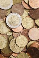 geld: euromunten foto