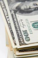 Amerikaanse bankbiljetten foto