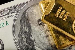 goud en geld foto