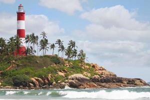 vuurtoren strand foto