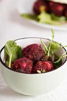 falafel met rode biet foto