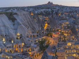 Cappadocië landschap, Turkije foto