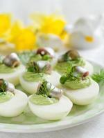 deviled eieren foto