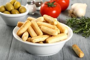 zoute snackstokjes foto