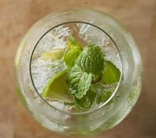 cocktail-mojito's foto