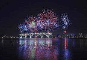 vuurwerk Australië dag foto
