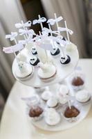 taarten op de bruiloft foto