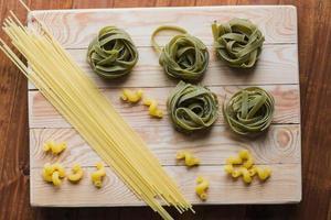 verschillende pasta foto
