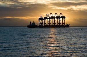 gran transporte marítimo foto