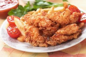 zuidelijke gebakken kip foto