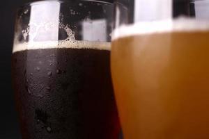 glas bier foto
