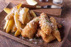 Fish and chips foto