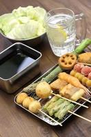 kushiage, Japans eten foto