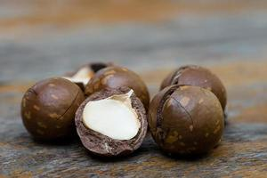 macadamia noten foto