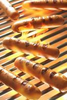 gegrilde worst, hotdog