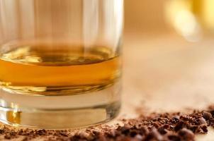 whisky en chocolade foto