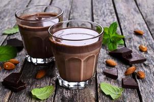chocolademelk foto