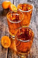 vloeibare sinaasappel foto