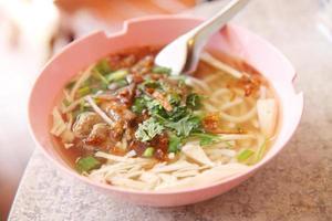 Vietnamese noedels foto