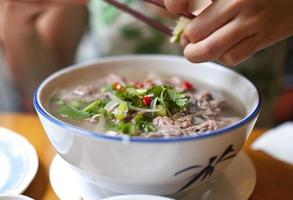 Thaise soep foto