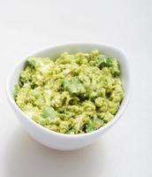 guacamole voorgerecht gezonde snack foto