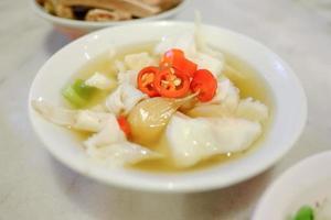 warm eten in Singapore foto