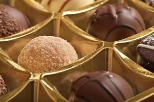 gevulde chocolade foto
