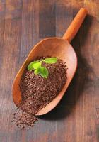 geraspte chocolade foto
