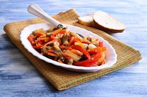 gekookte groenten foto