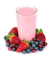 smoothies op wit