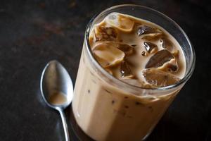 Koude koffie foto
