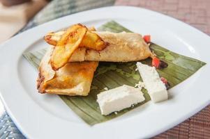 Tamales, traditioneel Meso-Amerikaans gerecht foto