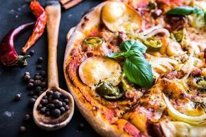smakelijke pizza
