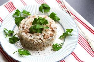 pilaf rijst foto