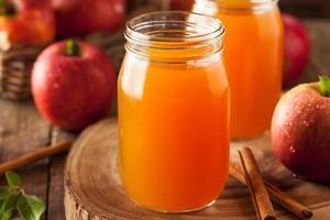 biologische oranje appelcider