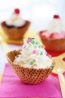 dessert - ijs foto