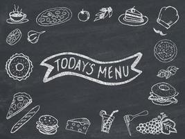 menu van vandaag foto