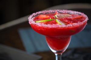aardbeienmargarita cocktail
