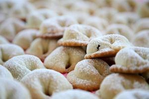 Italiaans gebak foto