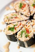 chuka sushi foto