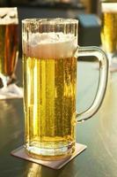vers getapt bier foto