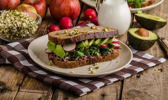 chipotle-avocado zomersandwich recept