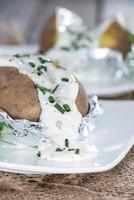 gebakken aardappel